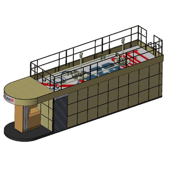 Проект АЗС, Проект мини АЗС, Разработка АЗС, Разработка контейнерной АЗС