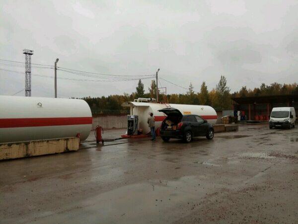 Установка щитов управления АЗС, Нефтебазой