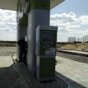 Установка терминалов самообслуживания АЗС